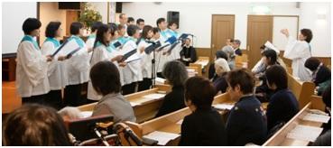 クリスマス礼拝聖歌隊